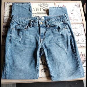 Sonoma Curvy Skinny Stretchy Mid Rise Jeans